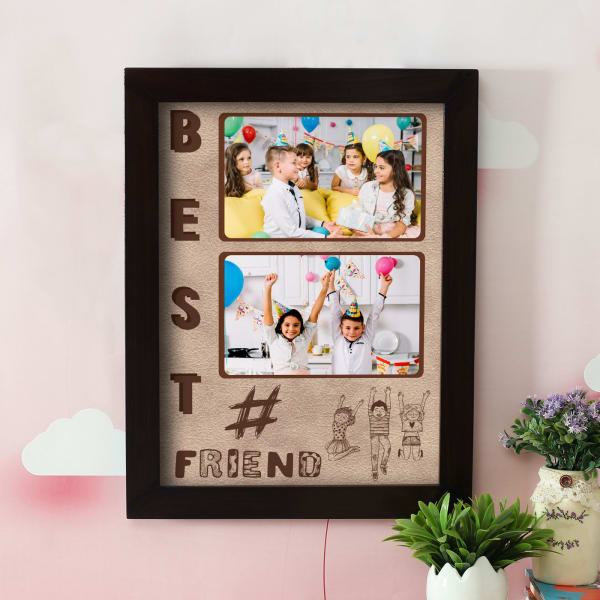 Personalized Best Friend A3 Kids Photo Frame