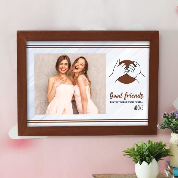 Personalized BFF Photo Frame for Friend