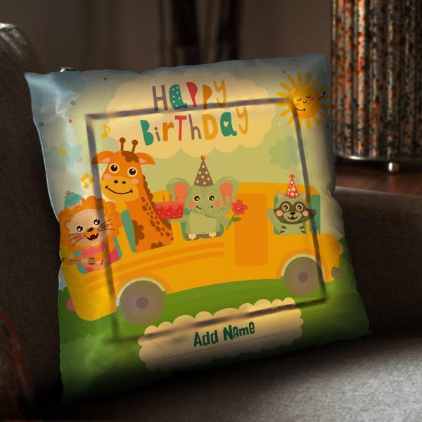 Personalized Birthday Cushion