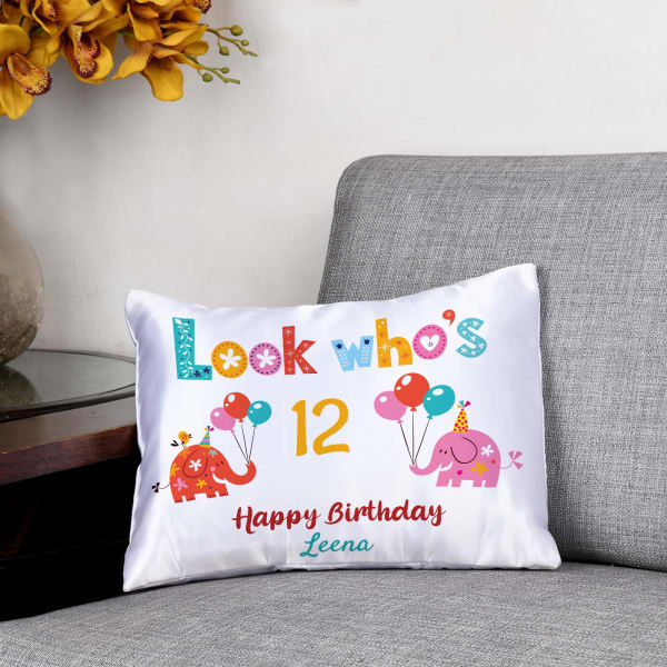 Personalized Birthday Cushion for Kids