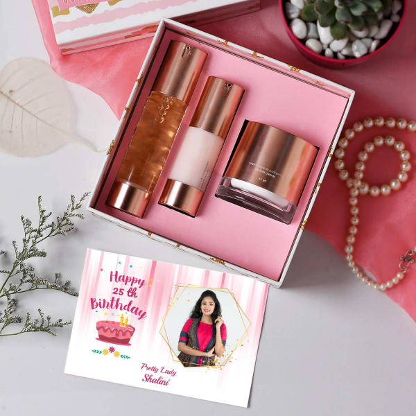 Personalized Birthday Skin Care Gift Set