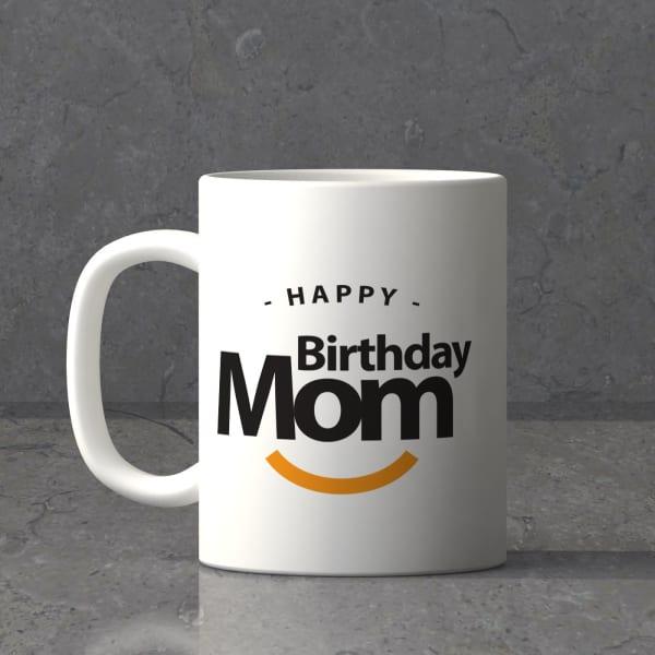 Personalized Birthday Themed Mug For Mom