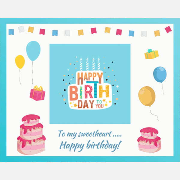 Personalized Birthday Video Message For Sweetheart Gift Send Personalized Gifts Gifts Online M11113739 Igp Com