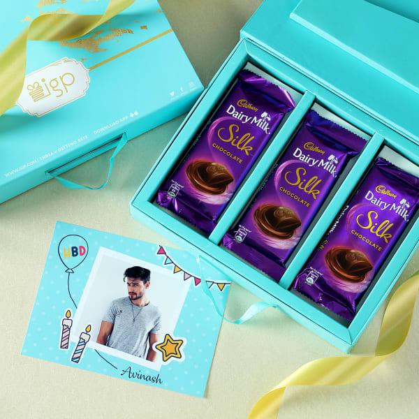 Personalized Birthday Wishes Chocolate Gift Box