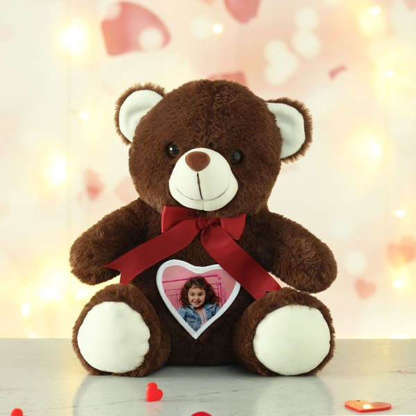 Personalized Brown Teddy for Girls