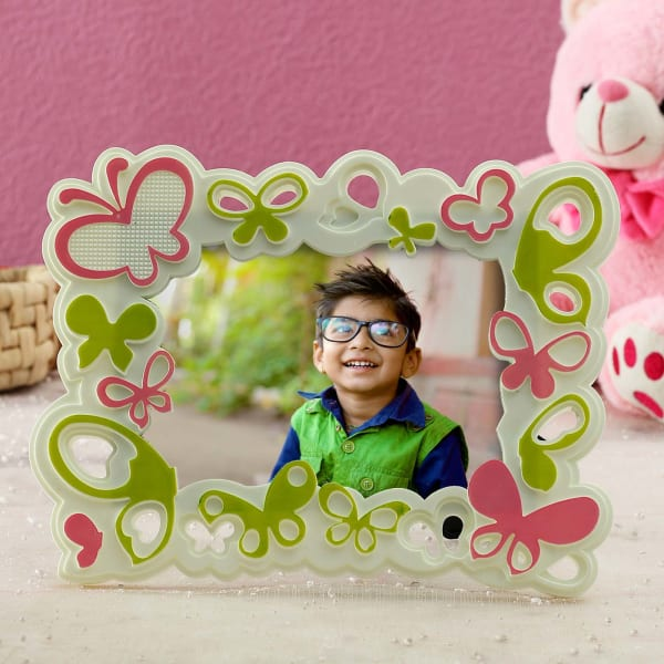 Personalized Butterfly Photo Frame