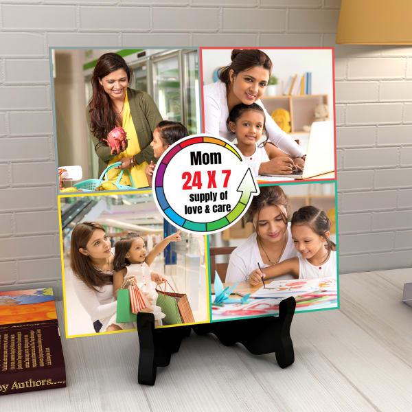 Personalized Ceramic Tile For Mom