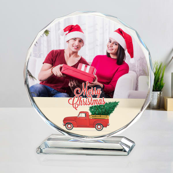Personalized Christmas Crystal