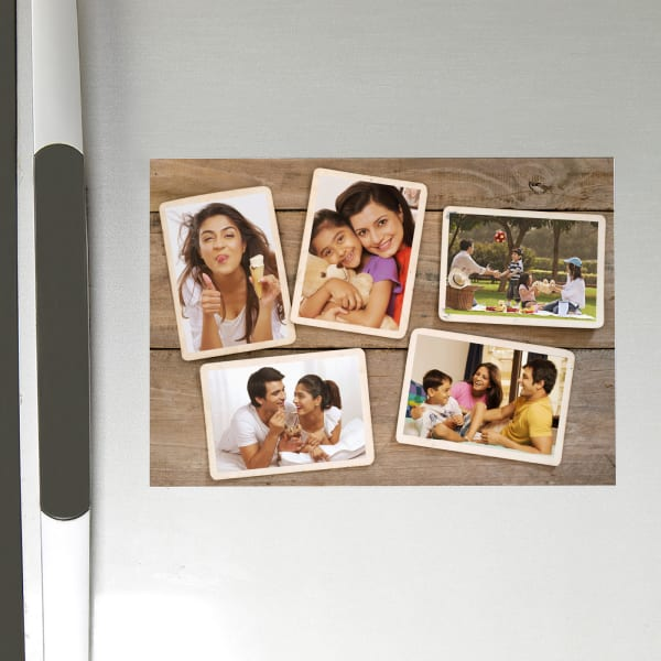 Personalized Collage A4 Size Fridge Magnet