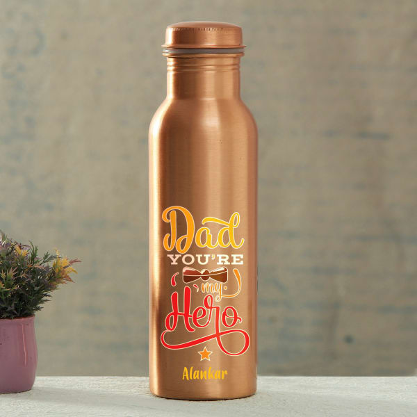 Personalized Copper Bottle for Dad