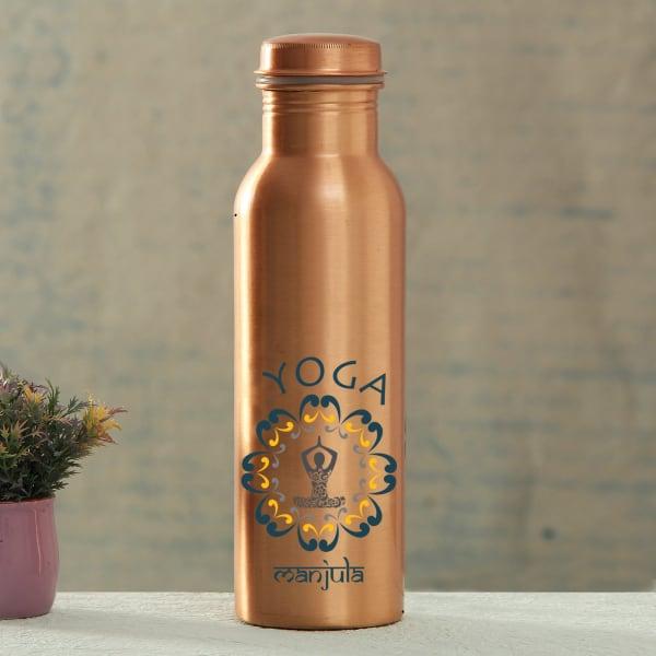 Personalized Copper Water Bottle