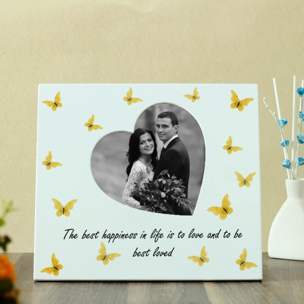 Personalized Couples Photo Frame