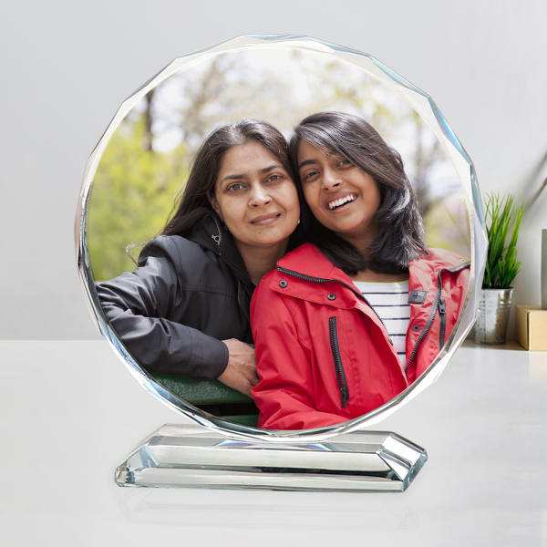 Personalized Crystal with Stand
