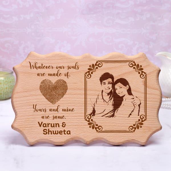 Personalized Designer Wooden Photo Frame