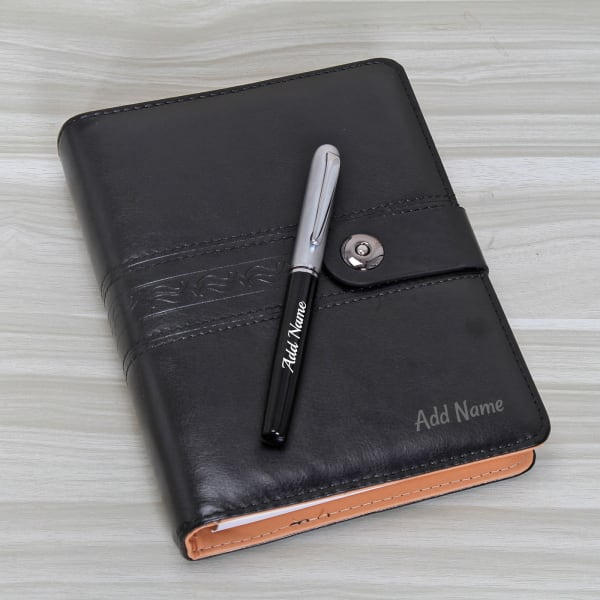 34a58988750 Personalized Diary with Pen for Professionals: Gift/Send Home and ...