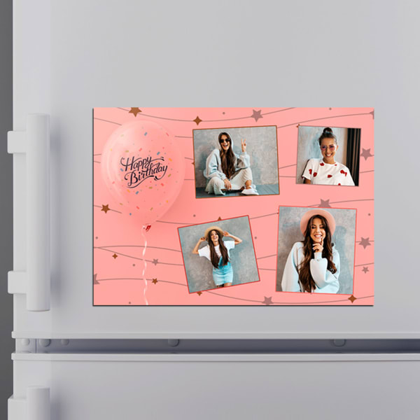 Personalized Fridge Magnet for Birthday