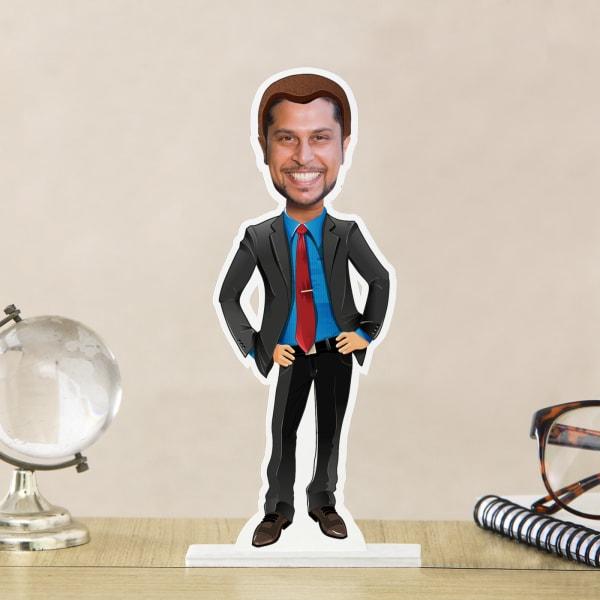 Personalized Gentleman Caricature