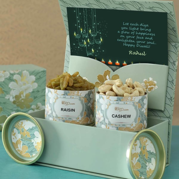 Personalized Gift Box with Dry Fruits