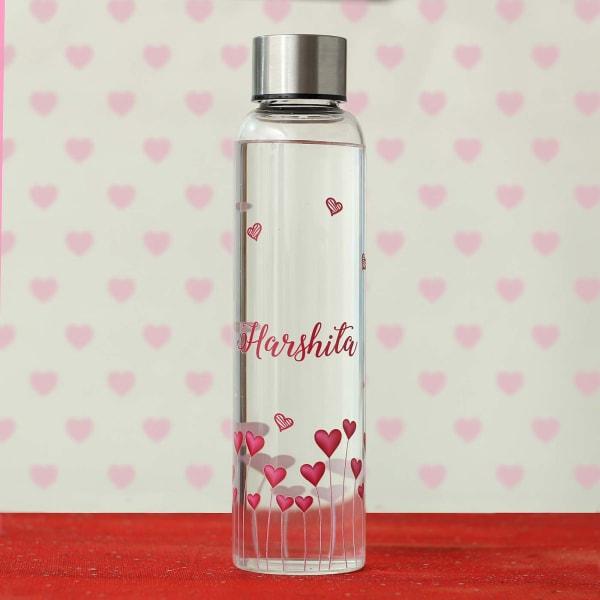 Personalized Glass Bottle