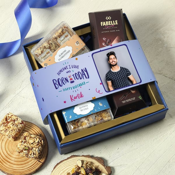 Personalized Health Snack Box for Birthday