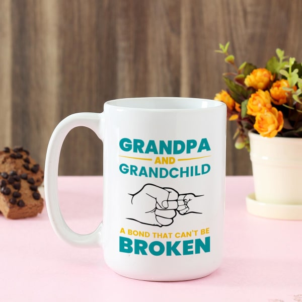 Personalized Large Mug For Grandpa