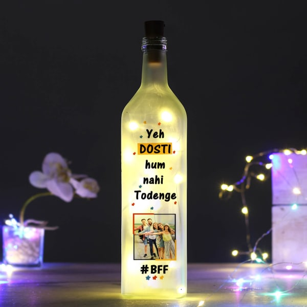 Personalized LED Bottle for Friend