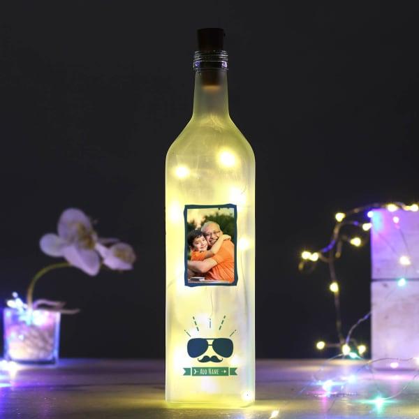 Personalized LED Bottle for Men