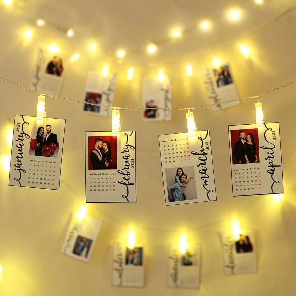 Personalized LED Calendar