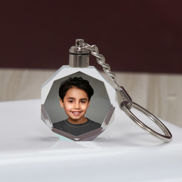 Personalized LED Keychain for Boys