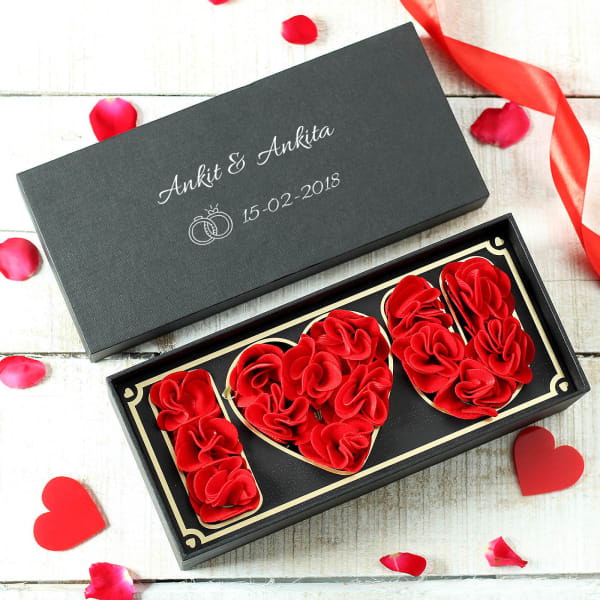 Personalized Love You Box for Anniversary