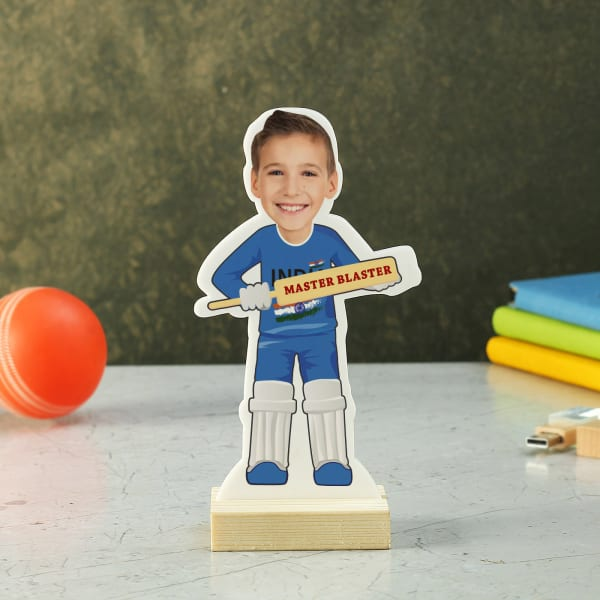 Personalized Master Blaster Caricature for Boys