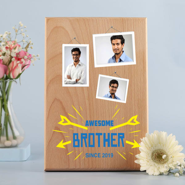 Personalized Photo Frame for Brother