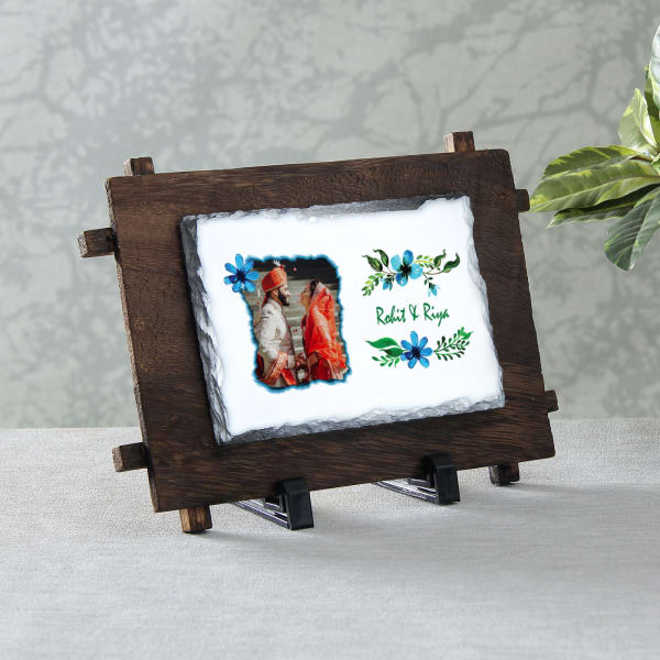 Personalized Rock Tile