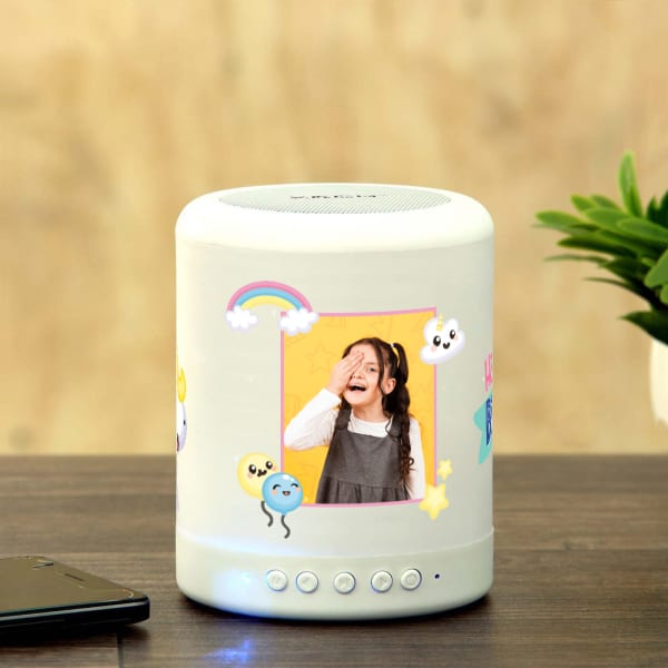 Personalized Smart Touch Mood Speaker for Girl