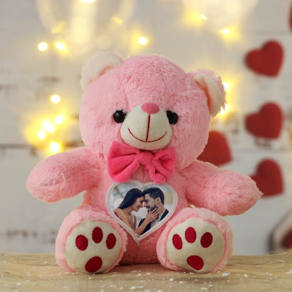 Personalized Teddy Bear in Pink