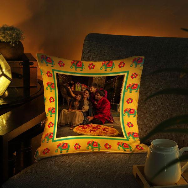 Personalized Traditional LED Cushion