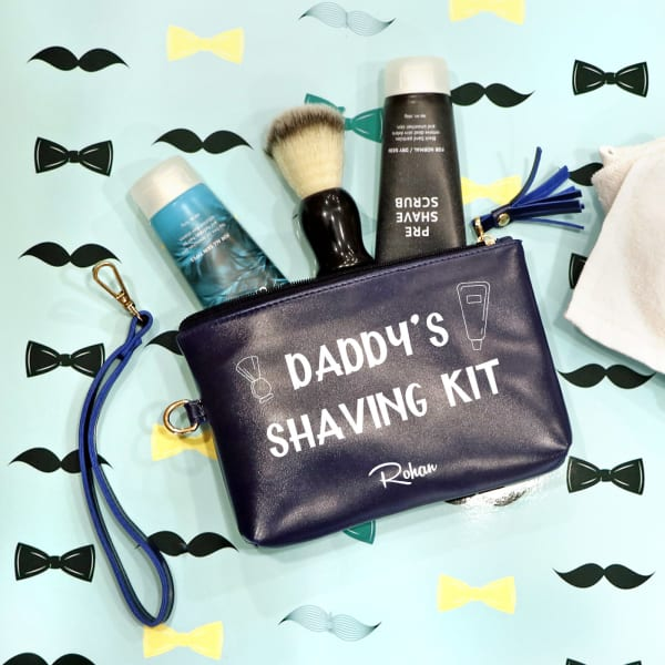 Personalized Travel Utility Pouch for Dad
