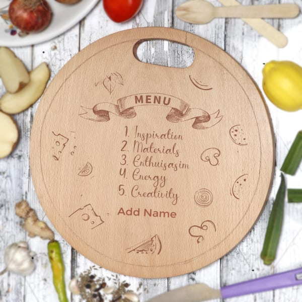Personalized Wooden Chopping Board
