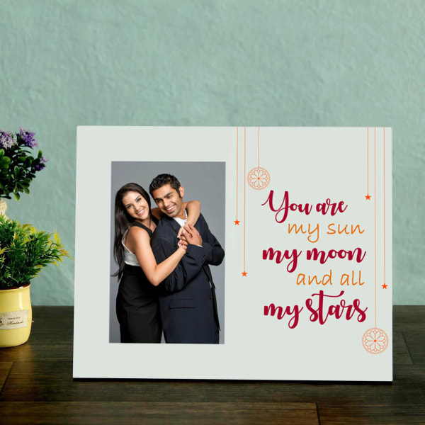 Personalized Wooden Frame - You Are My Sun