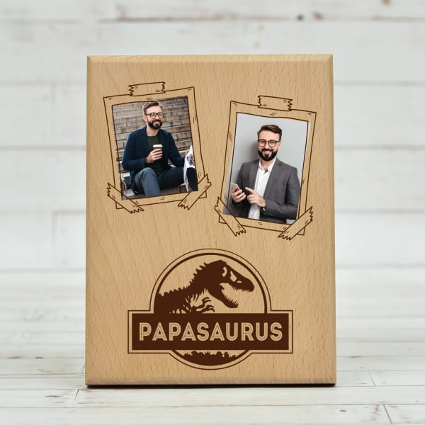 Personalized Wooden Photo Frame For Dad