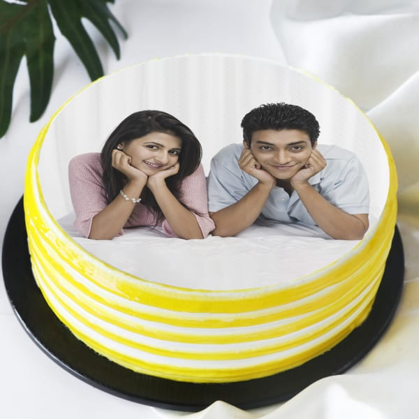 Photo Cake for Anniversary (Half Kg)