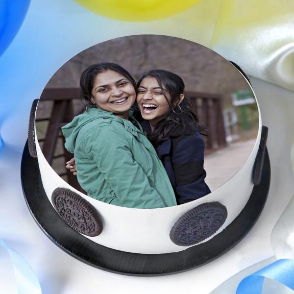 Photo Cake for Mom (Half Kg)