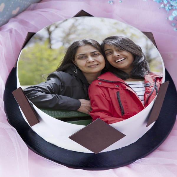 Photo Cake for Mother (Half Kg)
