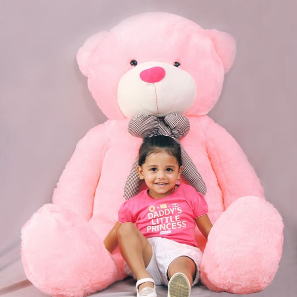 Pink Adorable Teddy Bear for Girls