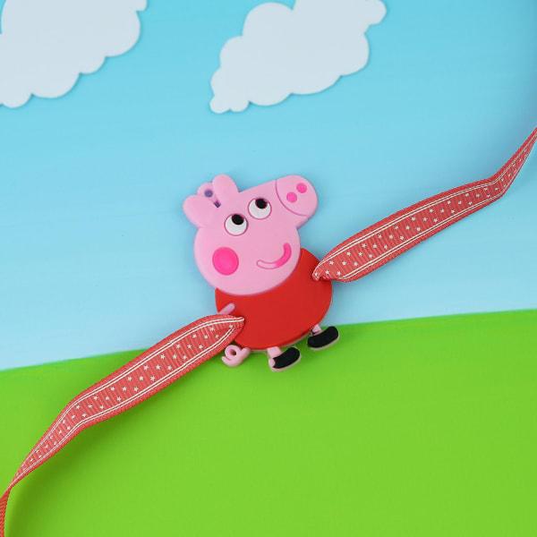 Pink Cartoon Kids Rakhi