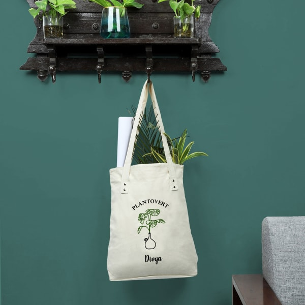 Plantovert Personalized Shopping Bag