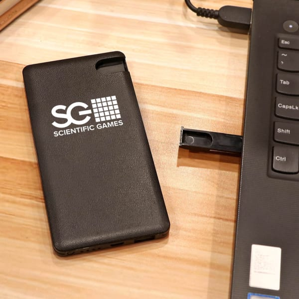 Power Bank 5000mAh with 16 GB Flash Drive