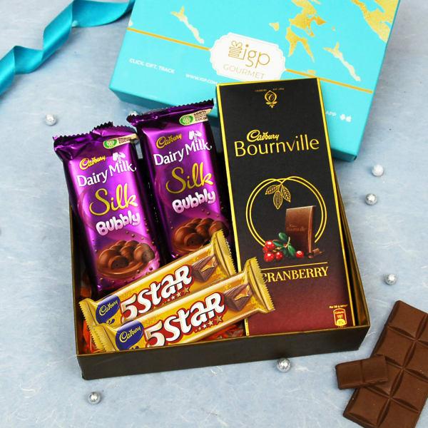 Premium Cadbury Chocolates in Gift Box