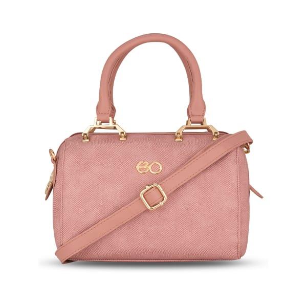 Pretty Pink Satchel For Women