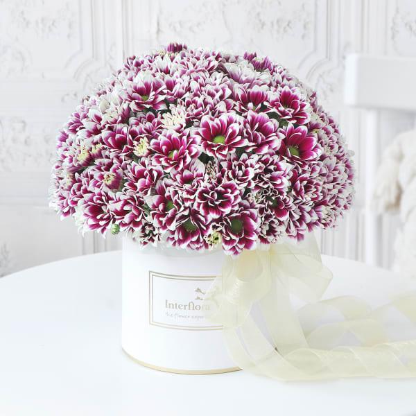 Purple Our Bond Friendship Day Bouquet